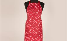 Fantasy Dots Red Adult Apron