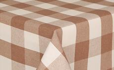 Mirha Large Beige Check