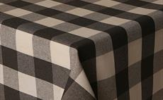 Mirha Large Grey Check