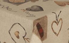 Love Is All You Need Oilcloth