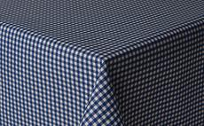Micro Gingham Check Blue