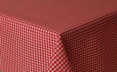 Micro Gingham Check Red