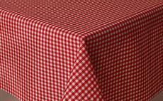 Micro Gingham Red 180cm