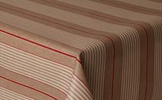 Harbour Red Stripe Oilcloth