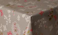 Pink Butterflies PVC Tablecloth 160cm Round