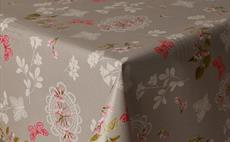 Pink Butterflies PVC Tablecloths