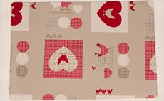 Poules Grey Place Mat