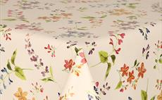 Pretty Flowers PVC Packaged Tablecloths