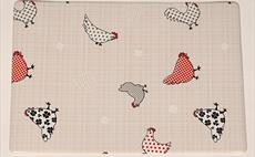 Chickens Place Mat
